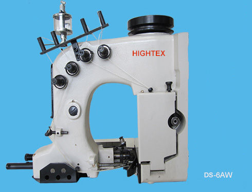 Double Needle, Four Thread Chain Stitch Sewing Machine